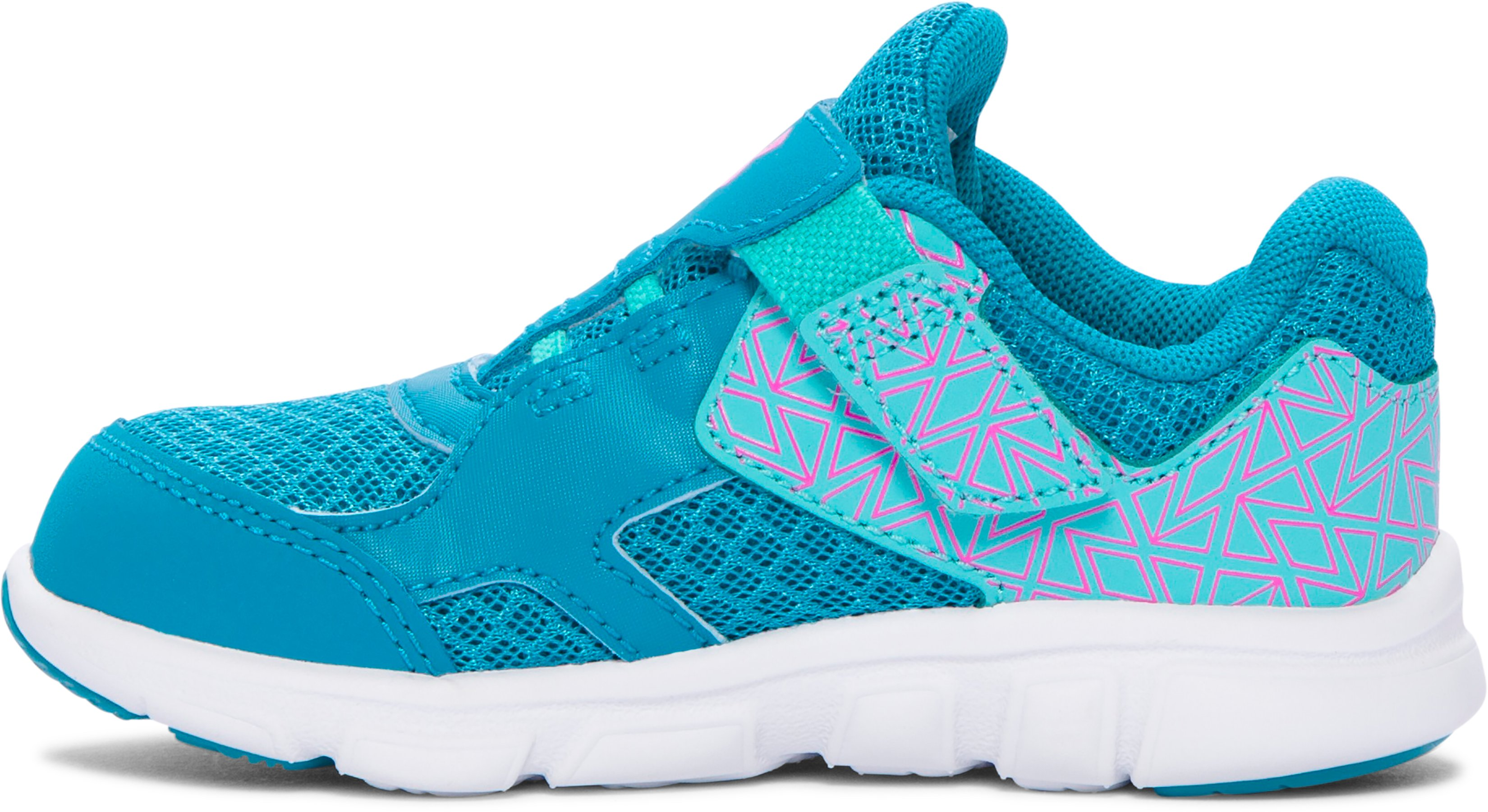 Girls' Infant UA Thrill AC Running Shoes, SUBTROPICAL TEAL, zoomed image