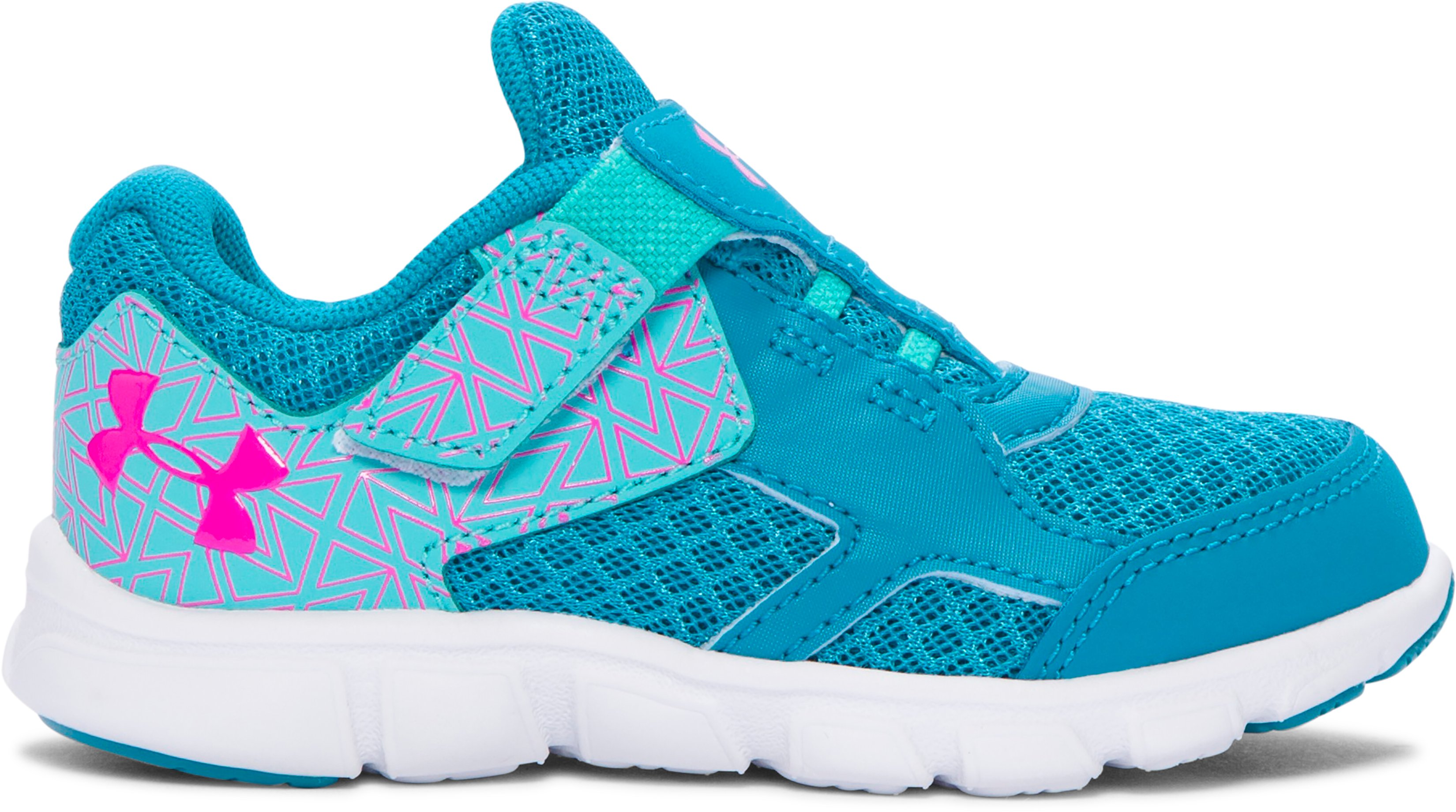 Girls' Infant UA Thrill AC Running Shoes, SUBTROPICAL TEAL