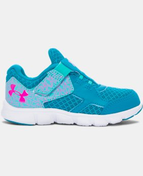 Girls' Infant UA Thrill AC Running Shoes LIMITED TIME: FREE SHIPPING 3 Colors $44.99