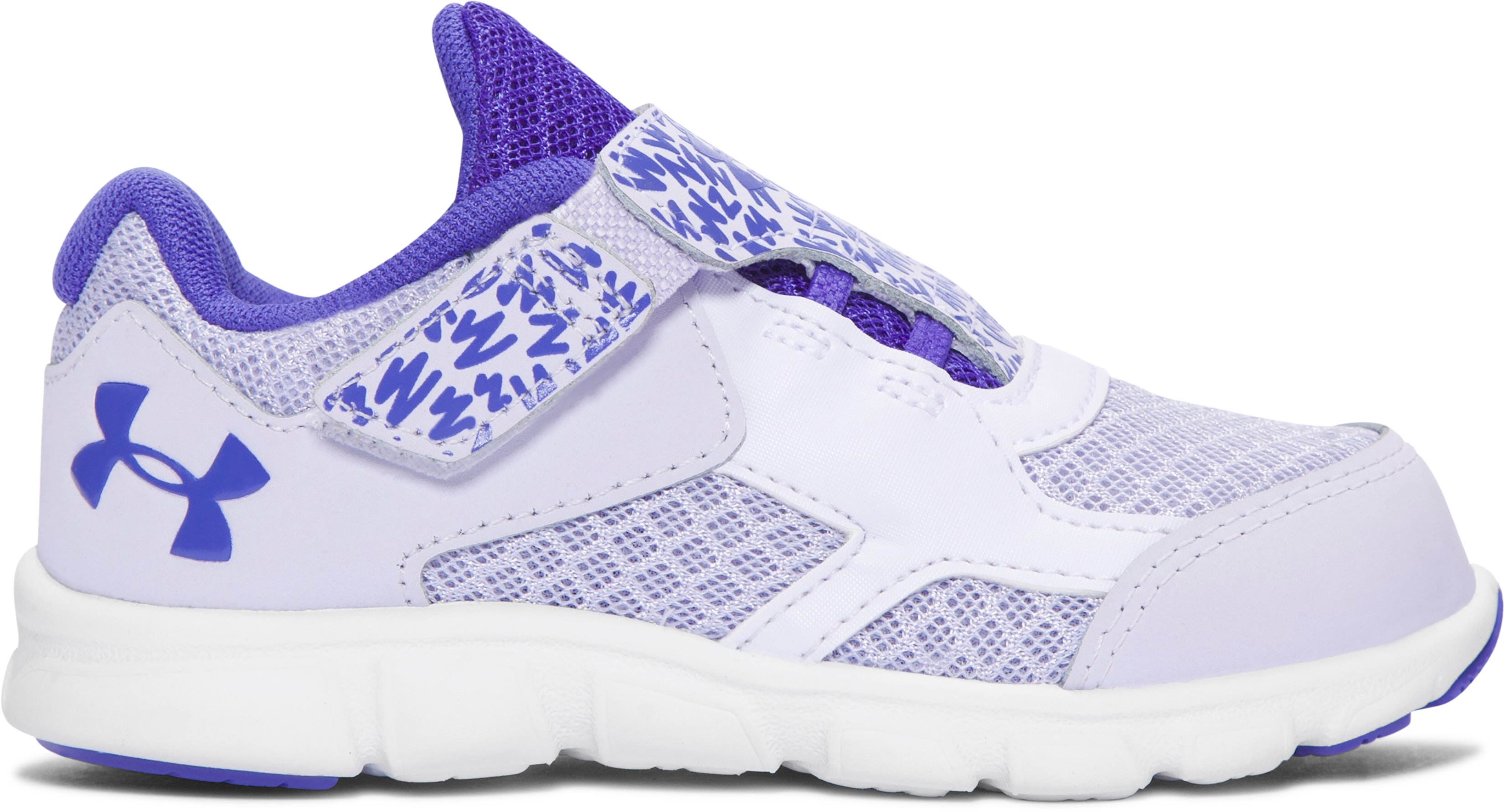 Girls' Infant UA Thrill AC Running Shoes, LAVENDER ICE