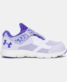 Best Seller Girls' Infant UA Thrill AC Running Shoes  1 Color $35.99
