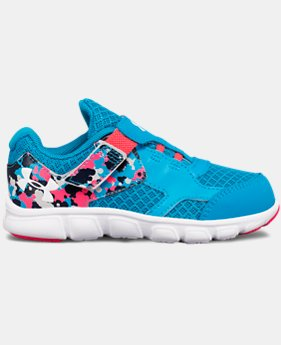 Best Seller Girls' Infant UA Thrill AC Running Shoes  2 Colors $26.99 to $35.99