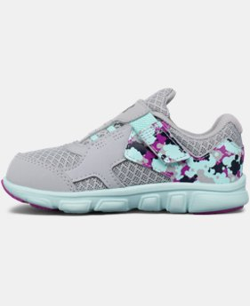 Girls' Infant UA Thrill AC Running Shoes  1 Color $26.99