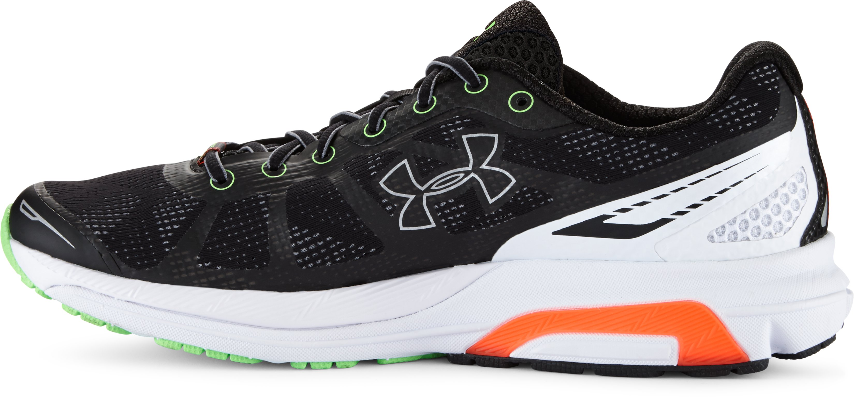 Men's UA Charged Bandit Running Shoes, Black