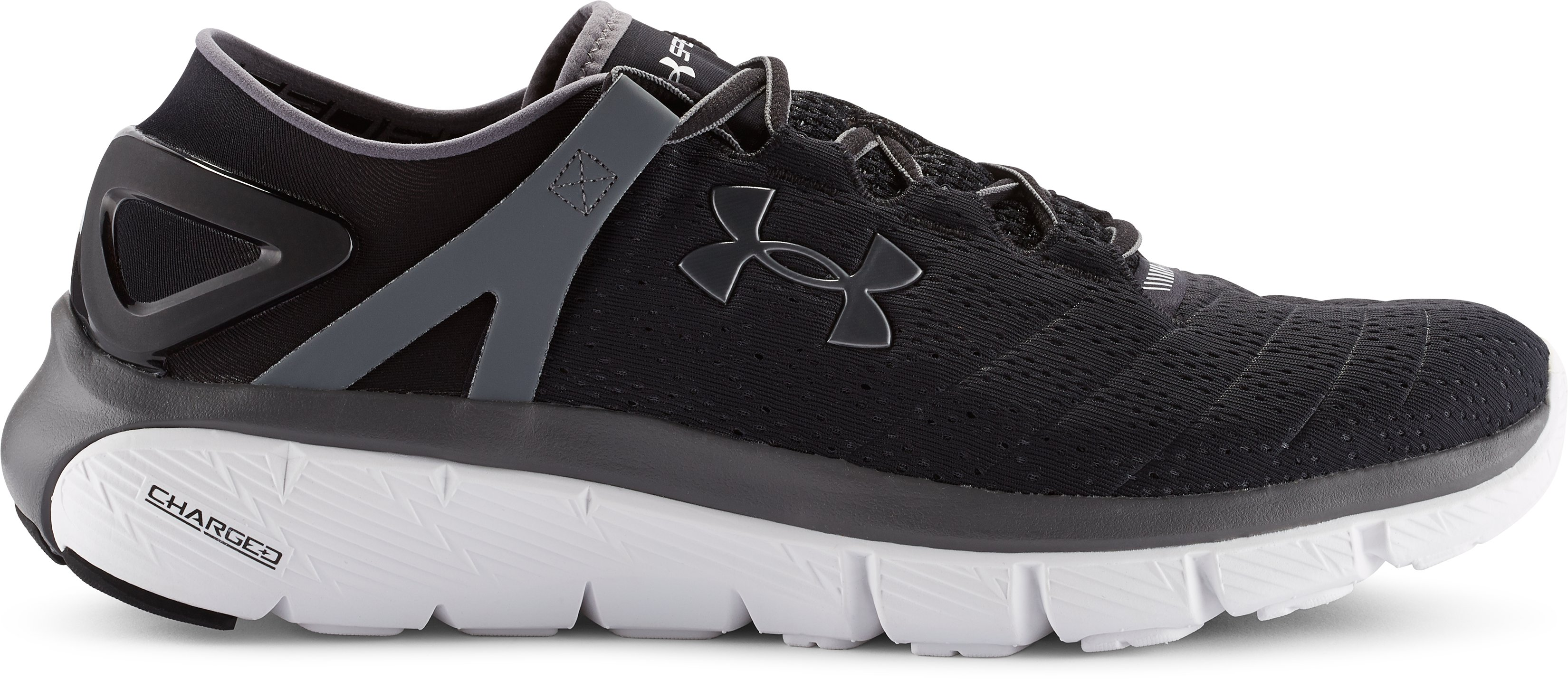 Men's UA SpeedForm® Fortis Running Shoes, Black