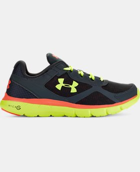 Men's UA Micro G® Velocity Running Shoes  2 Colors $56.24 to $74.99