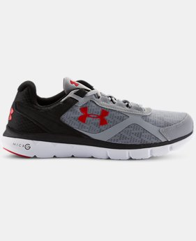 Men's UA Micro G® Velocity Running Shoes  2 Colors $84.99