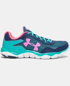 Girls' Grade School UA Engage II Running Shoes