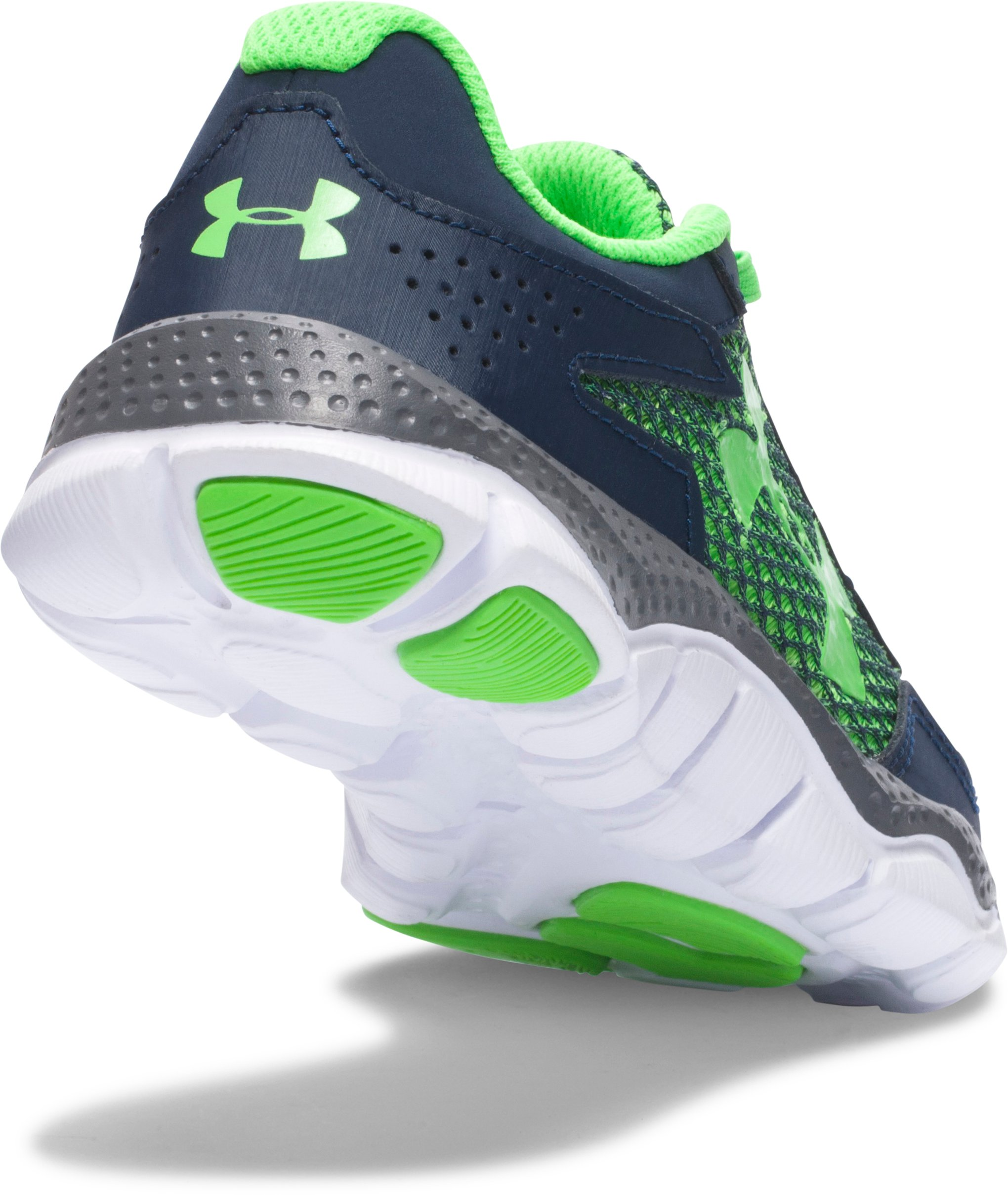 Boys' Pre-School UA Engage II BL Shoes, Academy,