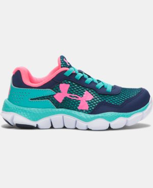 Girls' Pre-School UA Engage II BL Shoes  1 Color $28.49