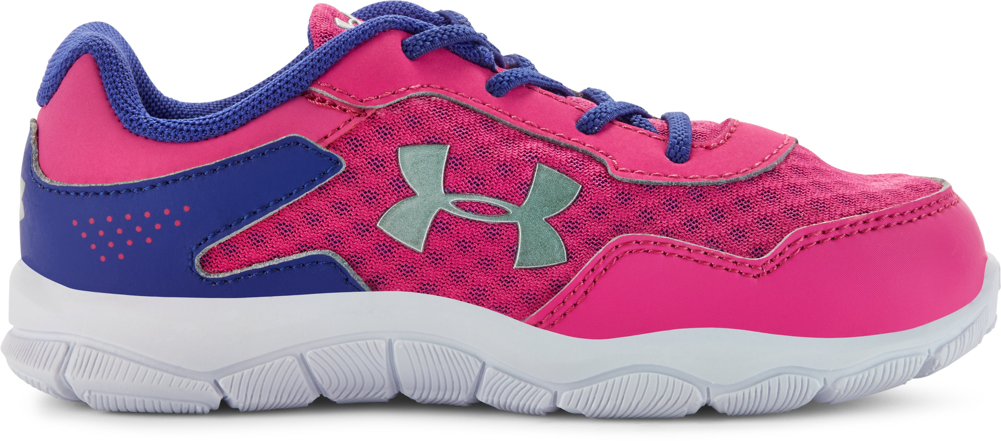 Girls' Infant UA Engage II BL Shoes, REBEL PINK