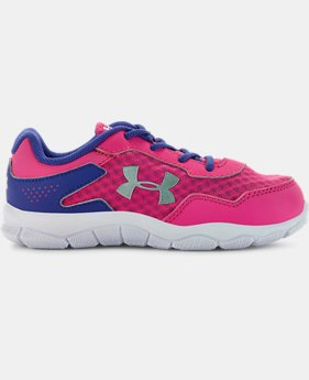 Girls' Pre-School UA Engage II BL Shoes