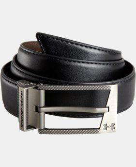 Men's UA Reversible Belt  2 Colors $34.99