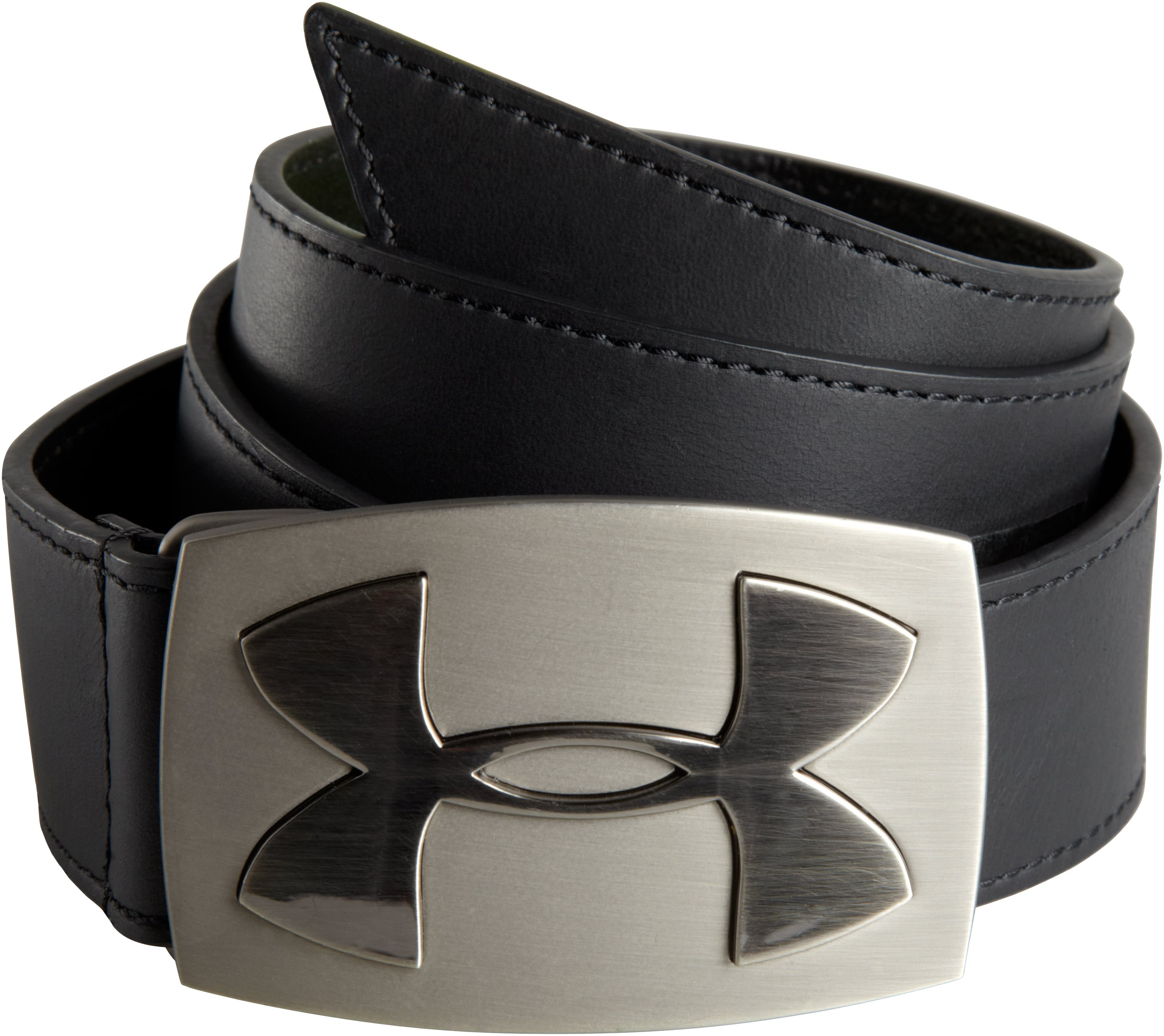 Mens's UA Fairway Leather Belt, Black