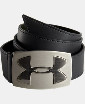 Mens's UA Fairway Leather Belt LIMITED TIME: FREE SHIPPING 2 Colors $39.74 to $52.99