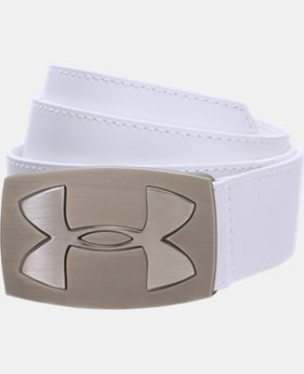 Men's UA Fairway Leather Belt  1 Color $52.99