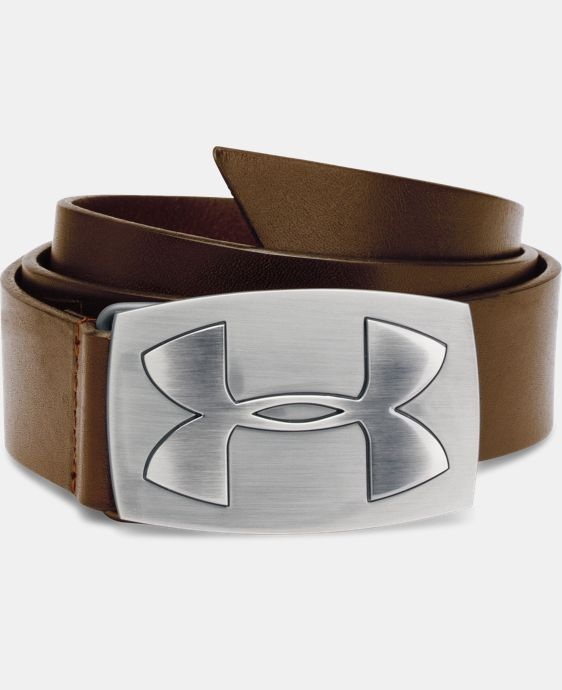 Mens's UA Fairway Leather Belt LIMITED TIME: FREE U.S. SHIPPING 1 Color $44.99