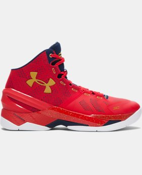 Best Seller Men's UA Curry Two Basketball Shoes  1 Color $129.99