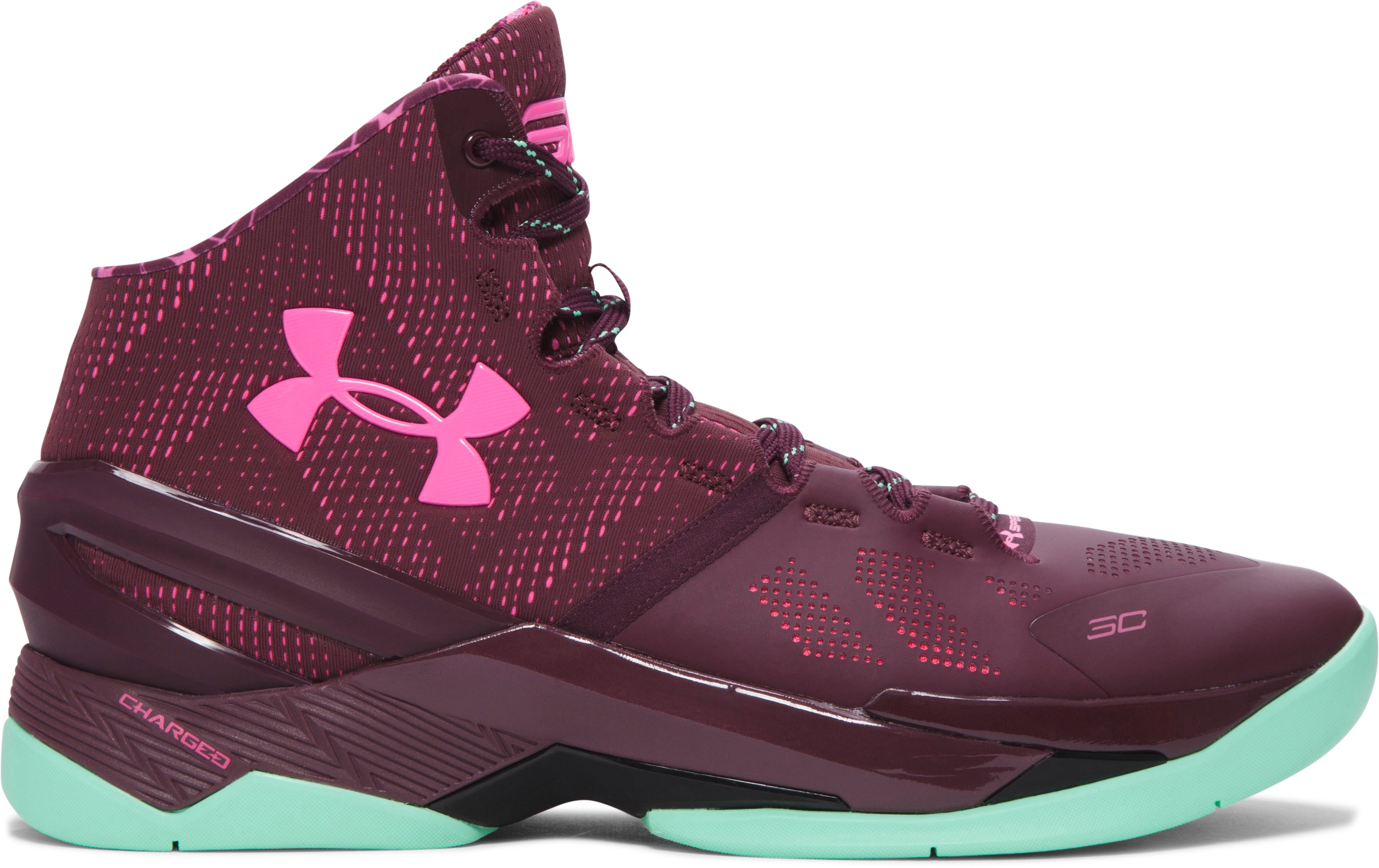 Men's UA Curry Two Basketball Shoes, BHM, zoomed image