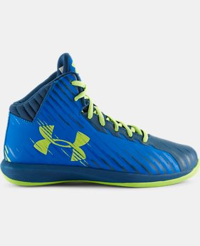 Kids' Grade School UA Jet Basketball Shoes