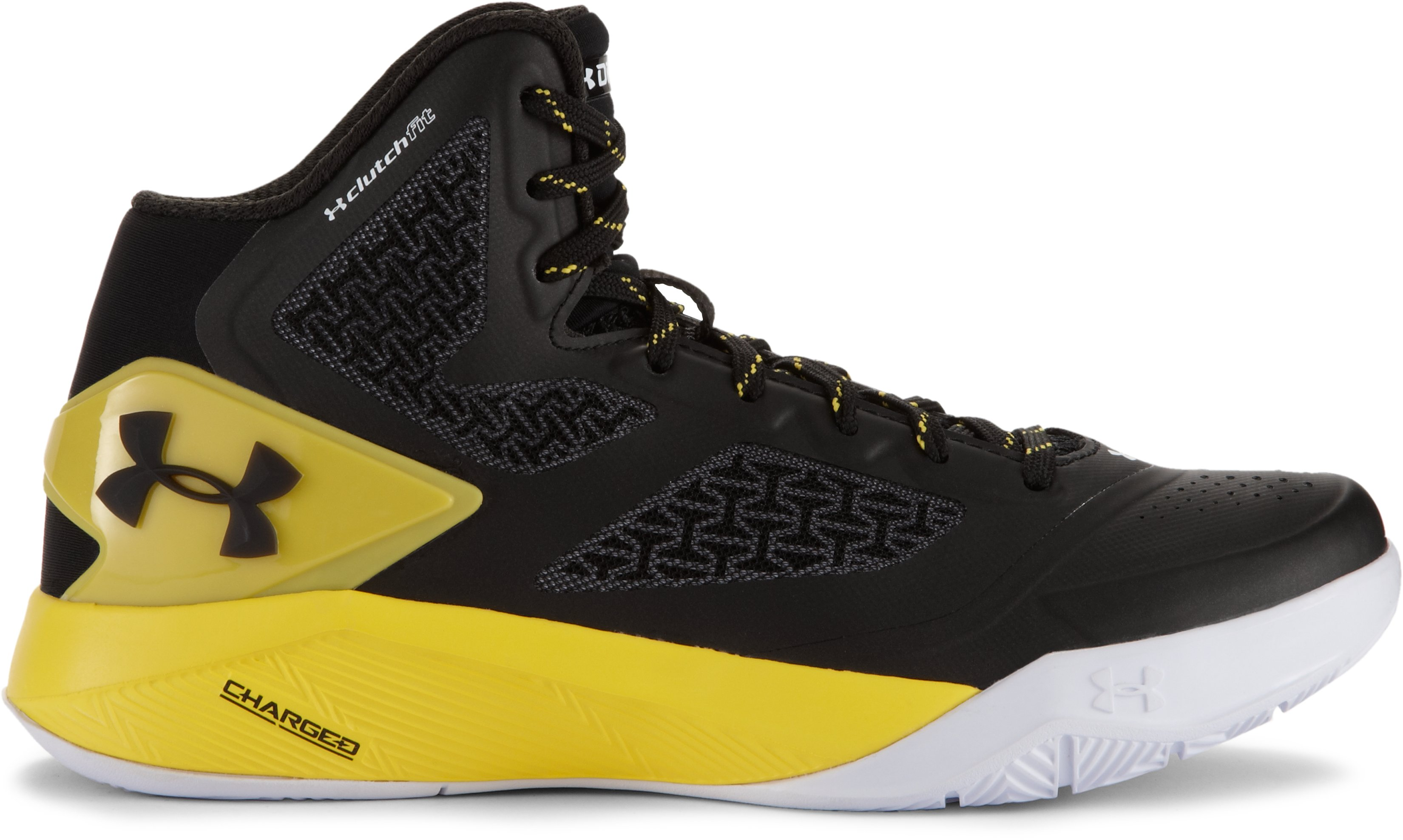 Boys' Grade School UA ClutchFit™ Drive 2 Basketball Shoes, Black , undefined