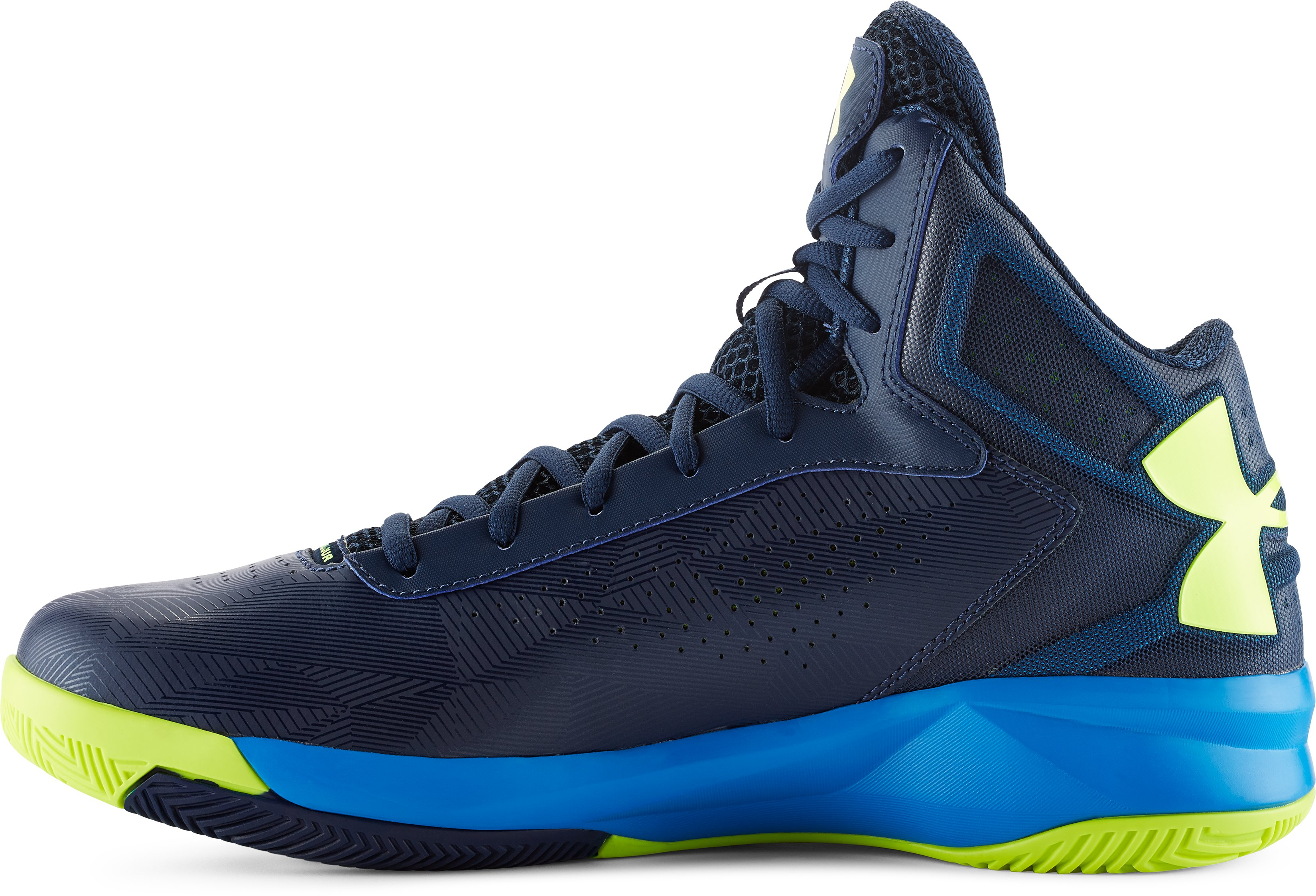 Men's UA Micro G® Torch Basketball Shoes, Academy, undefined