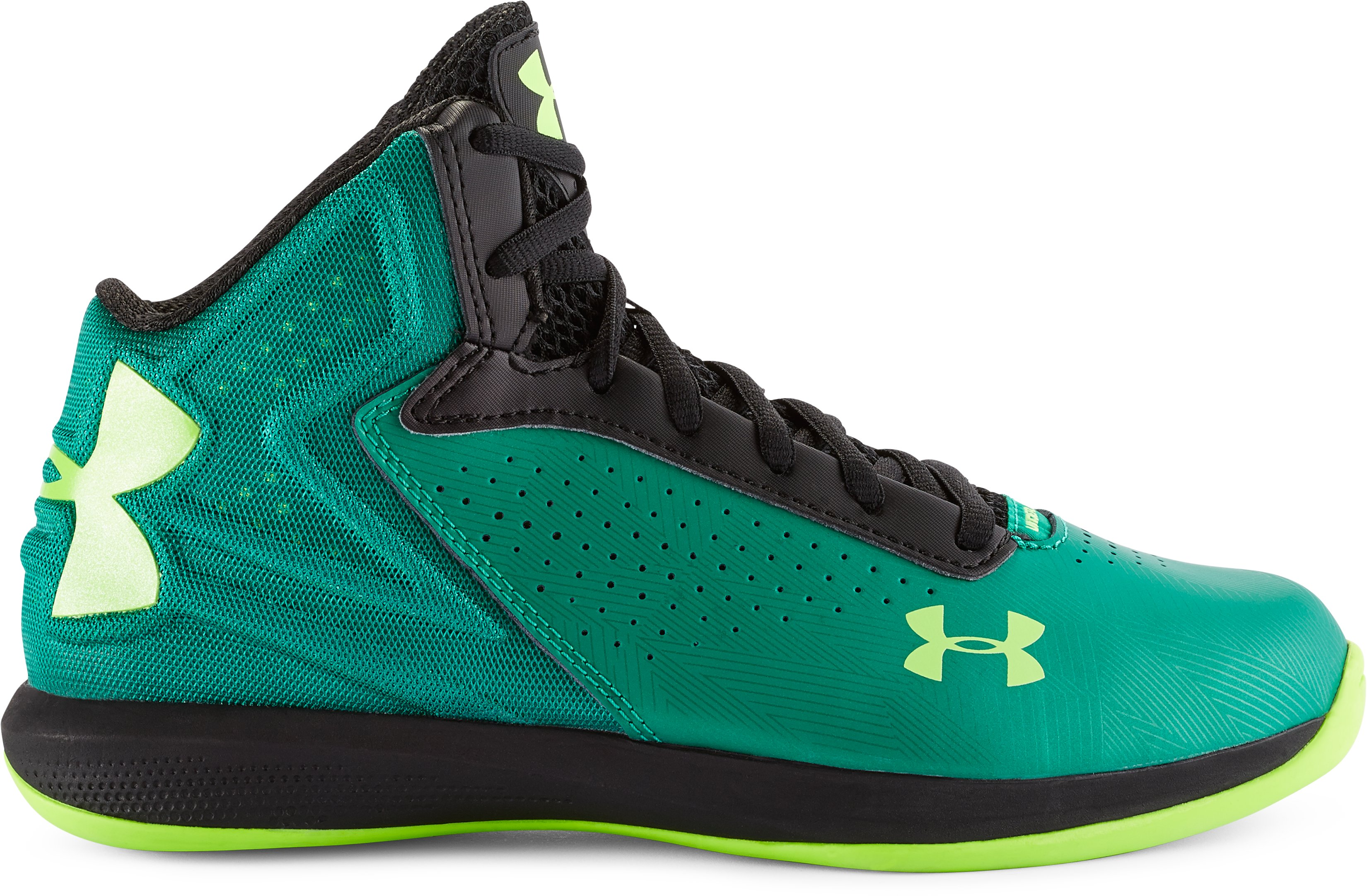 Kids' Grade School UA Torch Basketball Shoes, Persain