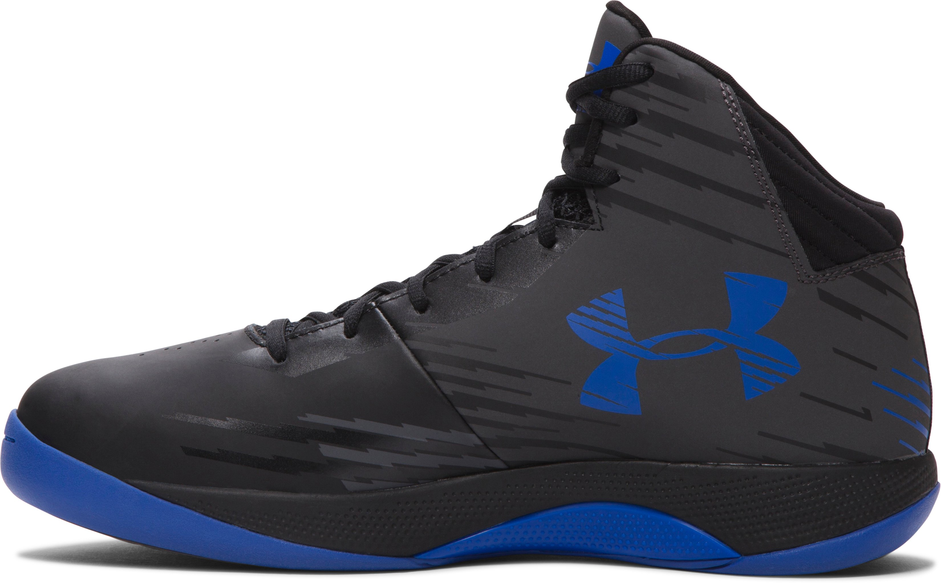 Men's UA Jet Basketball Shoes , Charcoal, undefined