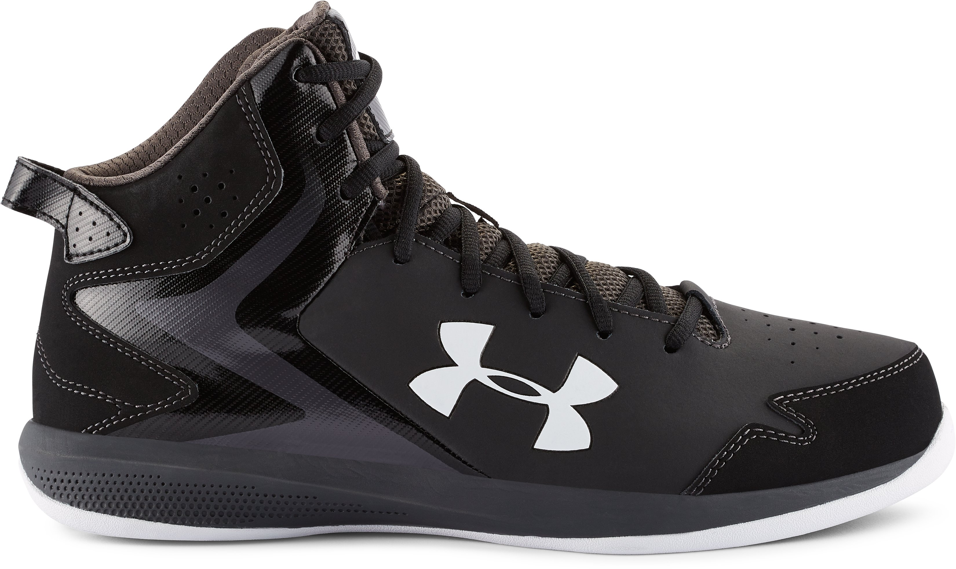 Men's UA Lockdown Basketball Shoes, Black
