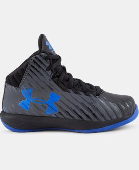 Kids' Pre-School UA Jet Basketball Shoes  1 Color $44.99