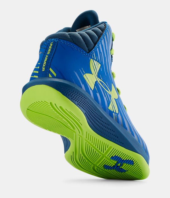Kids Pre School Ua Jet Basketball Shoes