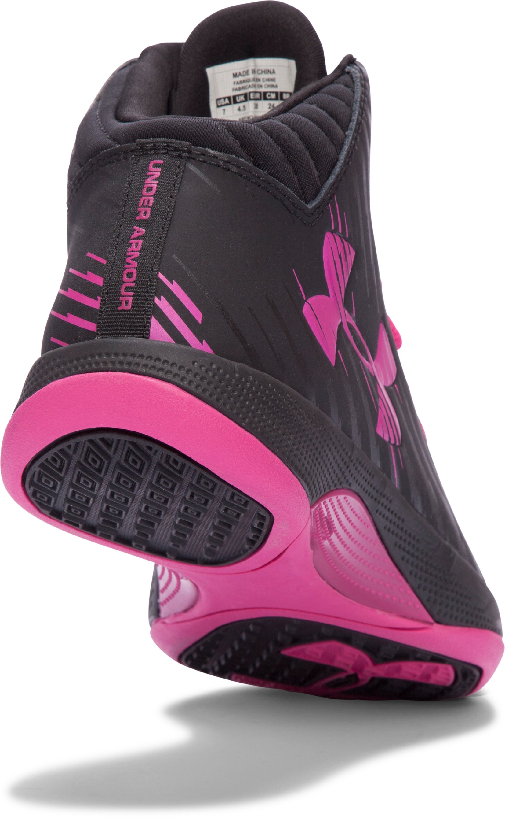 Women's UA Jet Basketball Shoes , Black