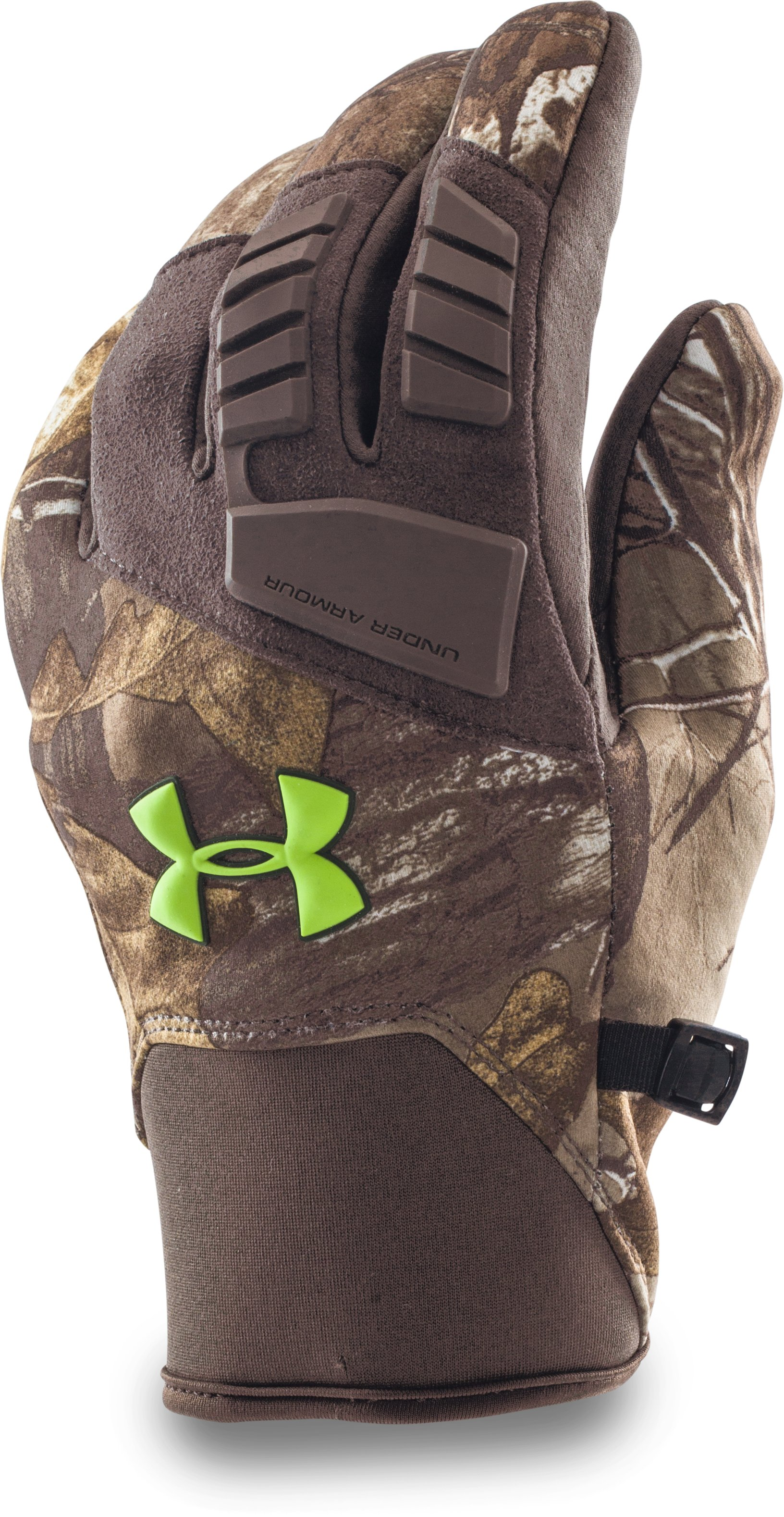 Men's UA ColdGear® Infrared Speed Freek Gloves, REALTREE AP-XTRA, undefined