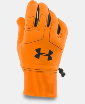 New Arrival  Men's UA Scent Control Armour® Fleece Gloves   $39.99