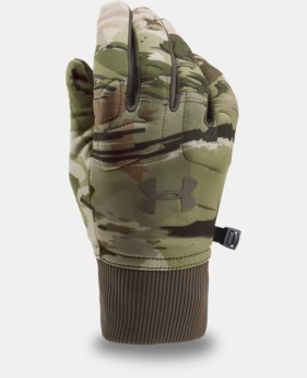 Men's UA Scent Control Armour® Fleece Gloves  2 Colors $34.99