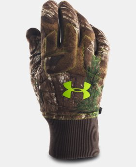 New Arrival  Men's UA Scent Control Armour® Fleece Gloves  2 Colors $39.99
