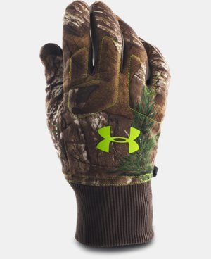Men's UA Scent Control Armour® Fleece Gloves LIMITED TIME: FREE SHIPPING 2 Colors $29.99