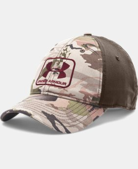 Men's UA Camo Stretch Fit Cap   $26.99