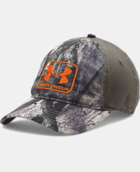 Men's UA Camo Stretch Fit Cap