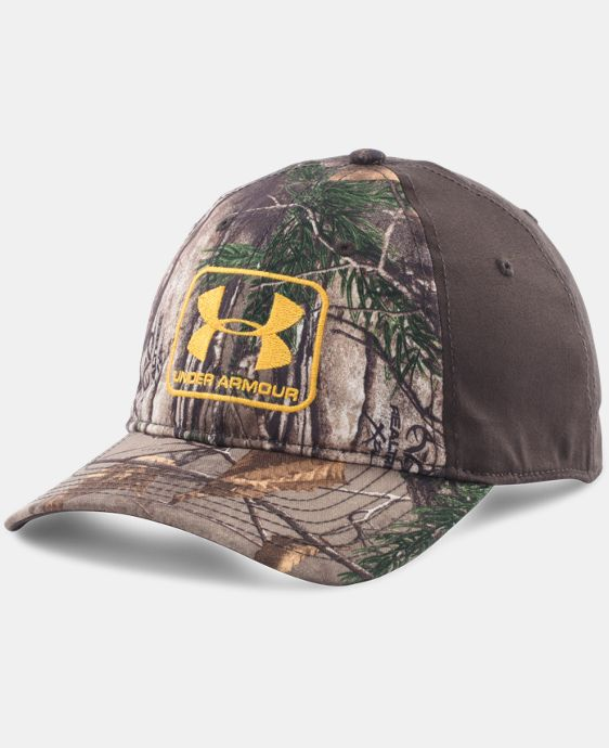 Men's UA Camo Stretch Fit Cap  1 Color $20.24