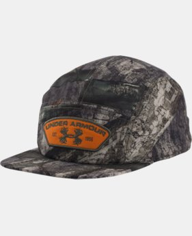 Men's UA Camo Antler Patch Cap