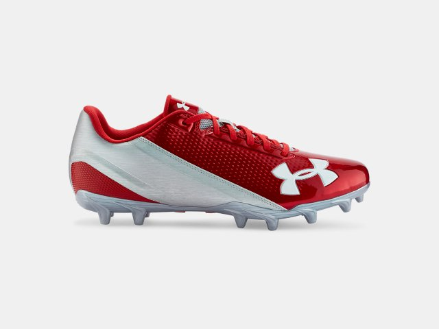 Football+Cleats+Red+And+Black
