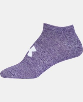 Women's UA Big Logo No-Show Socks – 6-Pack  2 Colors $24.99