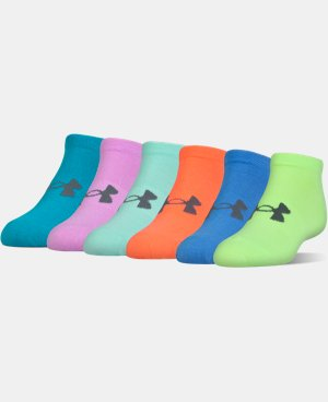 Best Seller Women's UA Big Logo No-Show Socks 6-Pack  1 Color $19.99