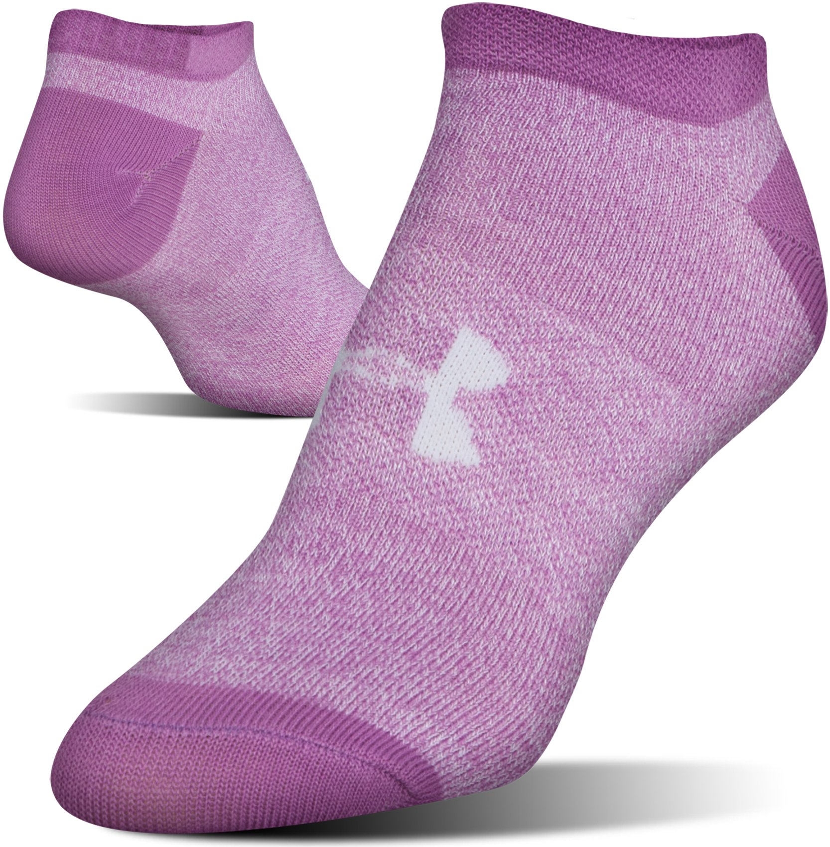 Women's UA Big Logo No-Show Socks – 6-Pack, Assorted,