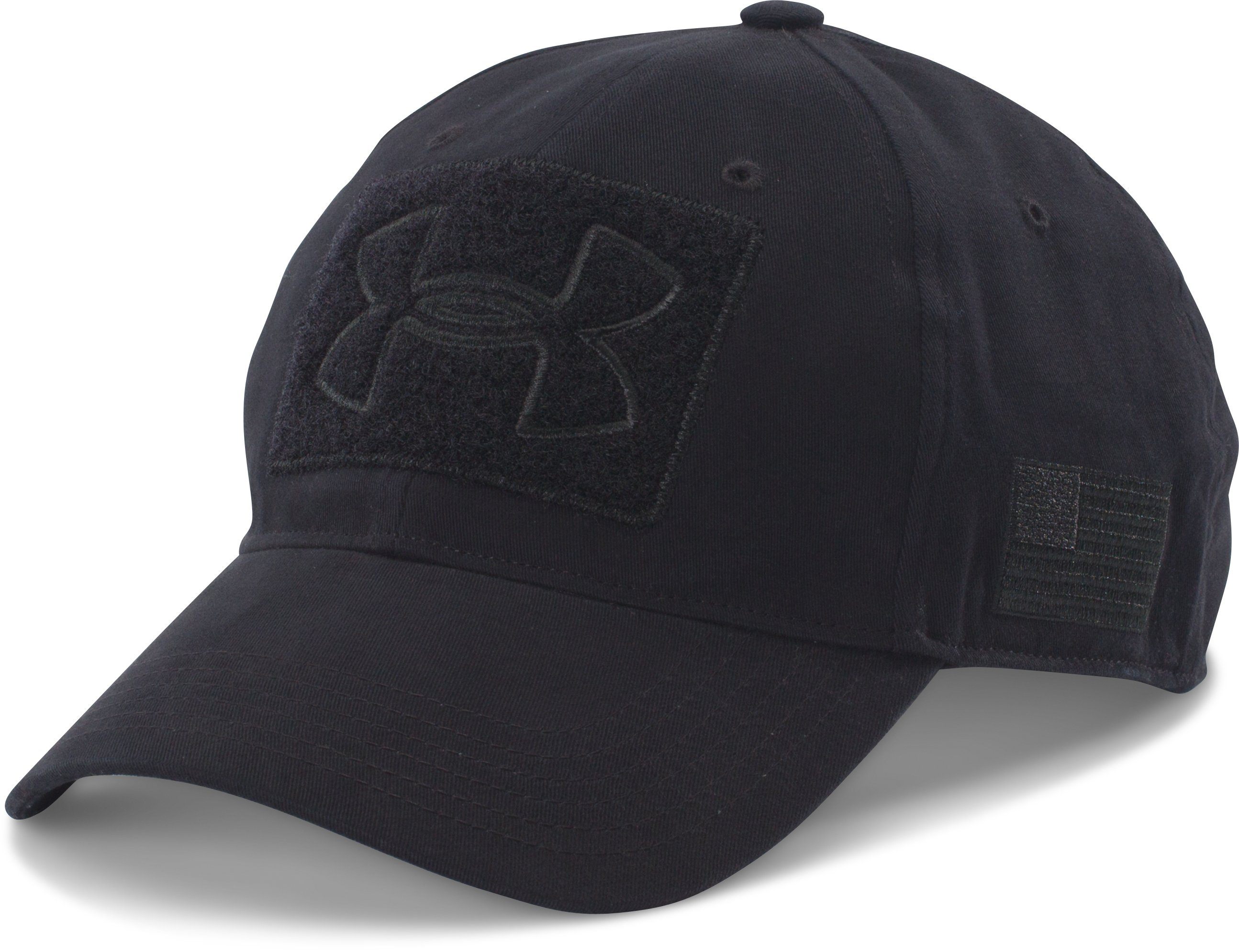 Men's UA Tactical Patch Cap, Black ,