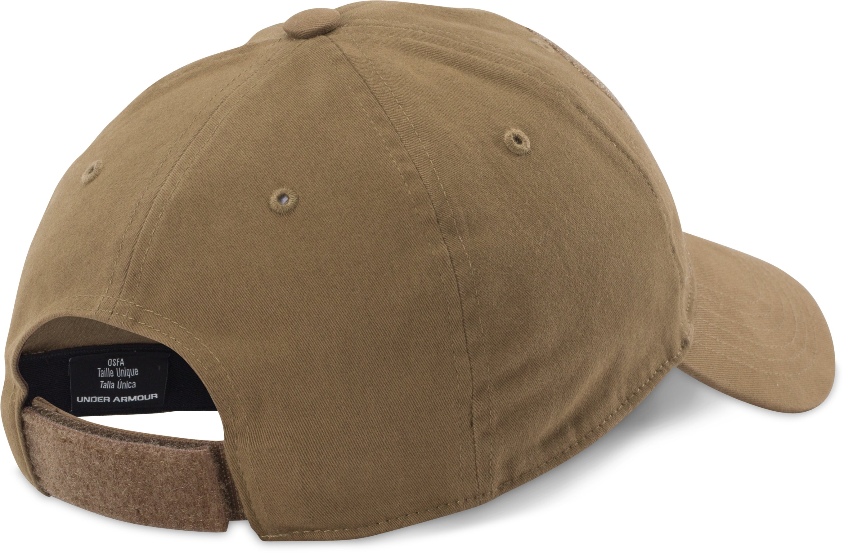 Men's UA Tactical Patch Cap, Coyote Brown, undefined