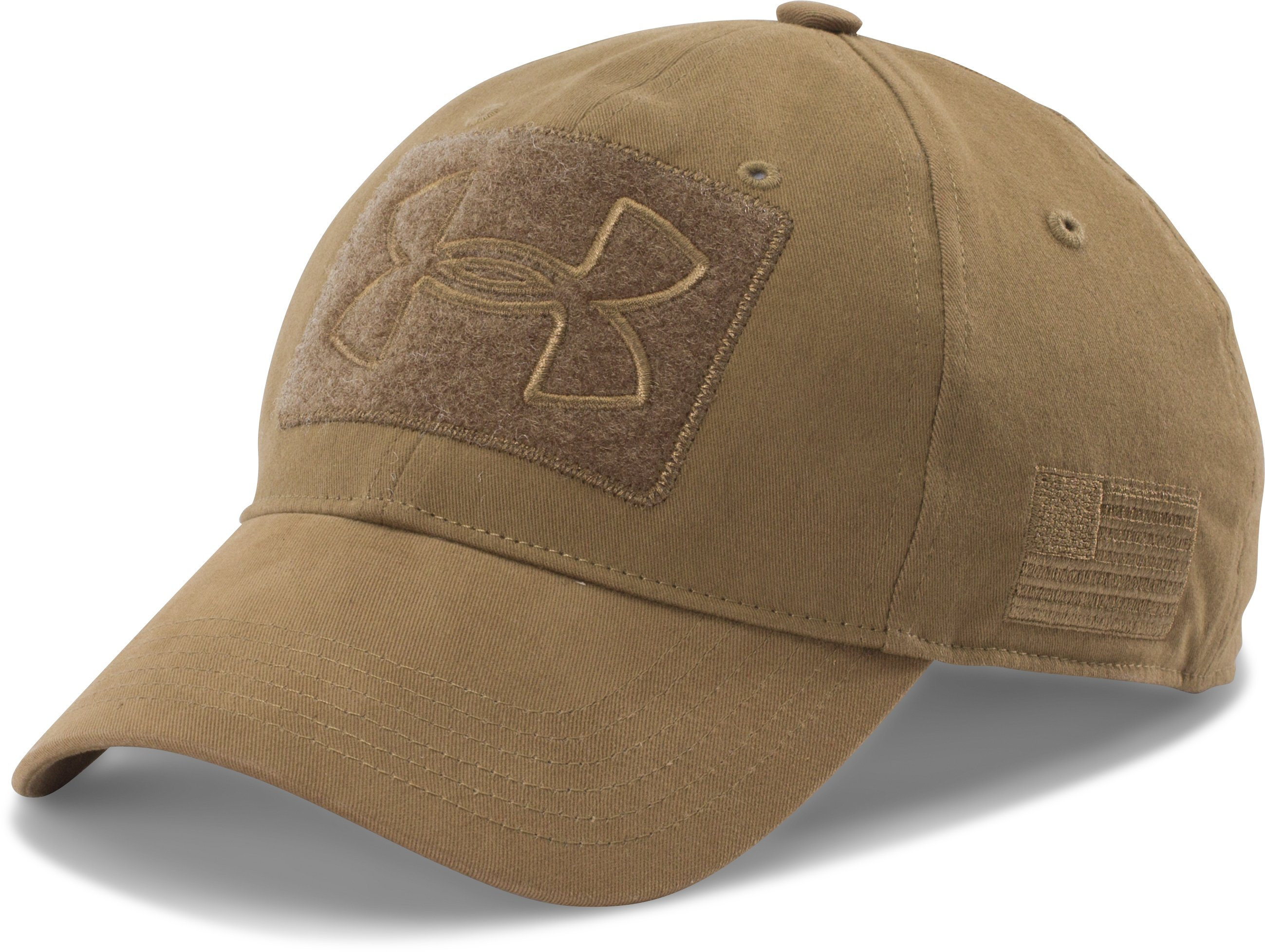 Men's UA Tactical Patch Cap, Coyote Brown