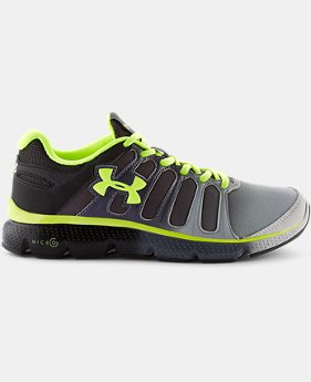 Boys' Grade School UA Micro G® Pulse II Fade Running Shoes