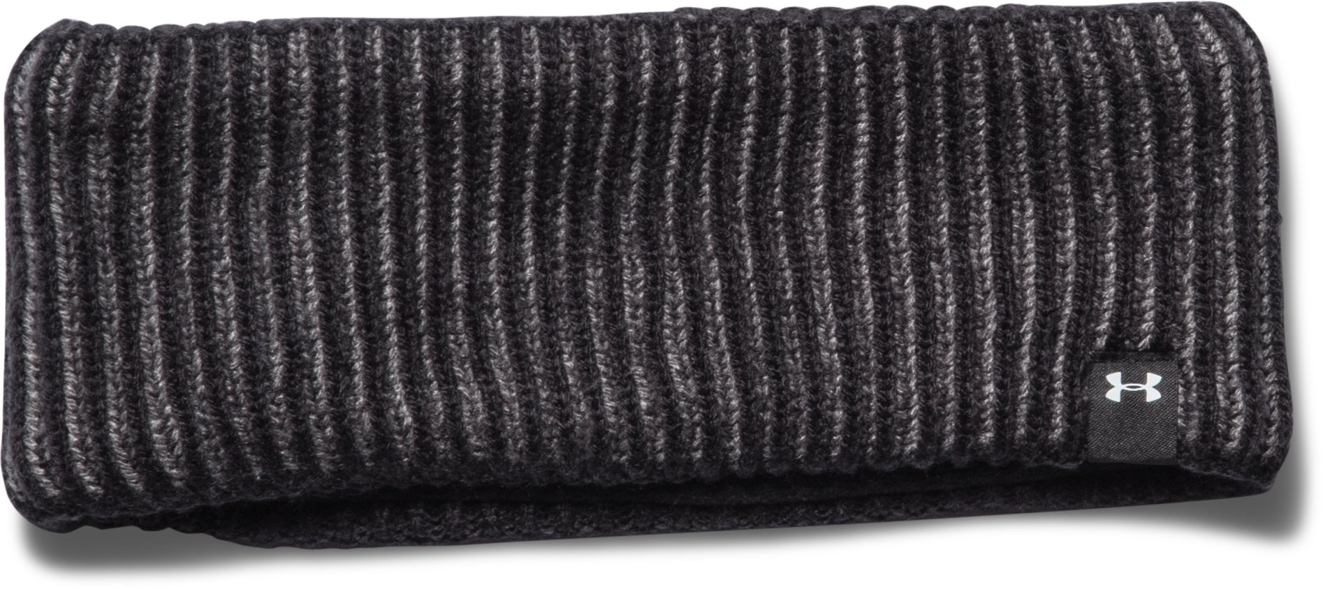 Women's UA On & Off Winter Headband, Black , zoomed image